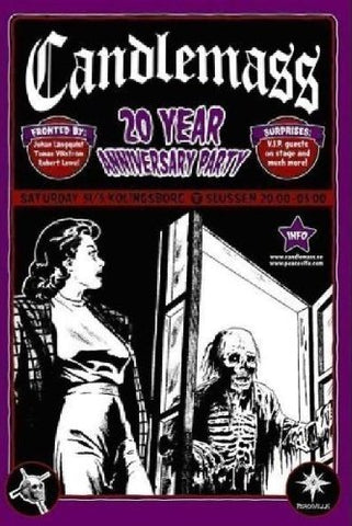 Candlemass 20 Years Anniversary Party DVD