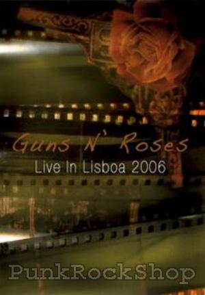 Guns N Roses Live In Lisbona 2006 DVD