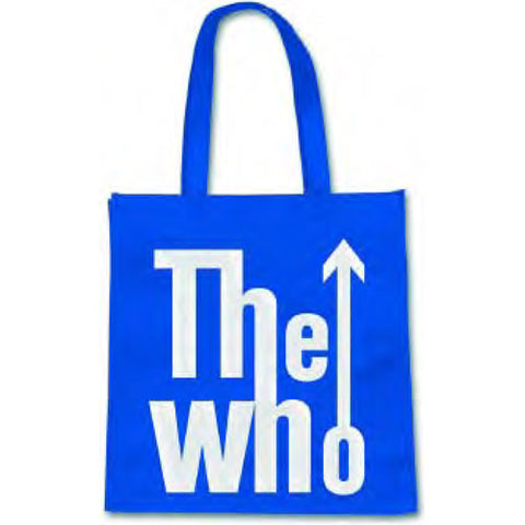 Who The Blue Logo Eco Bag Bag