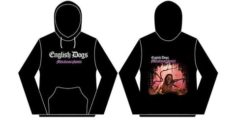 English Dogs Metalmorphosis Mens Hoodie