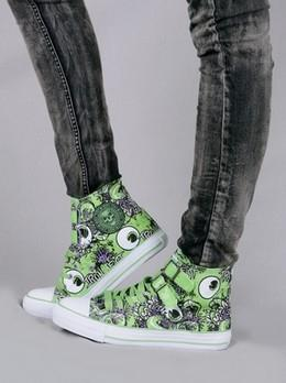 Iron Fist Ghoul Green Hi-Top Sneaker Hi Top