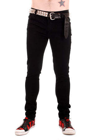 Tiger Of London Tiger of London Black Cotton Stretch Jeans Mens Trouser