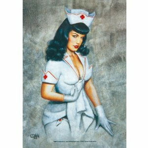 Bettie  Page Nurse Lighter