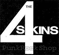 4-Skins Logo Woven Patche
