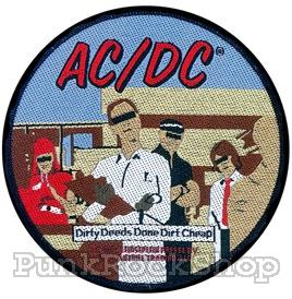 AC/DC Dirty Deeds Woven Patche