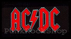 ACDC AC/DC Logo Woven Patche