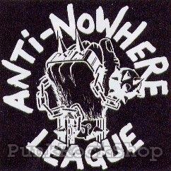 Anti Nowhere League Logo Backpatche