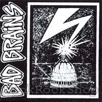 Bad Brains Capital Printed Patche
