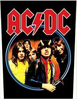 AC/DC Highway to Hell Backpatche