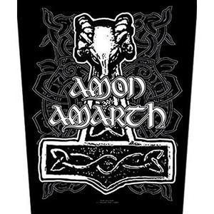 Amon Amarth Thors Hammer Backpatche