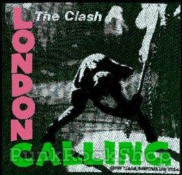 Clash London Calling Woven Patche