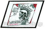 The Exploited Washington D.C Woven Patche