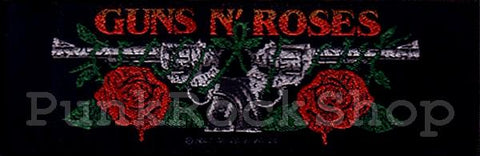 Patch Guns N Roses 2 Guns Superstrip Woven Patche