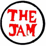 The Jam Logo Round Cut Out Woven Patche
