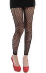 Pamela Mann Racy Lacy Footless Black Tights Tight