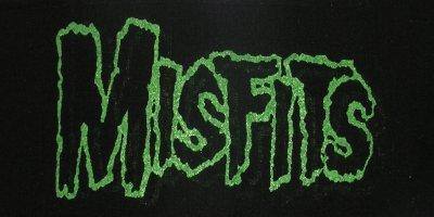 Misfits Logo Printed Patche