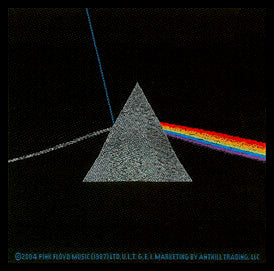 Pink Floyd Dark Side of the Moon Woven Patche