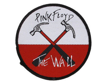 Pink Floyd Hammers Woven Patche