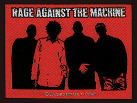 Rage Against the Machine Faces Woven Patche