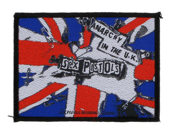 Sex Pistols Anarchy in the UK Woven Patche