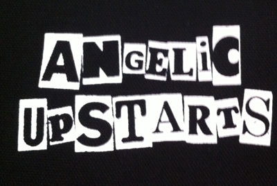 Angelic Upstarts Logo 2 Printed Patche