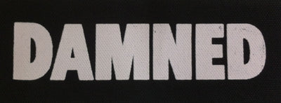 Damned Logo Printed Patche