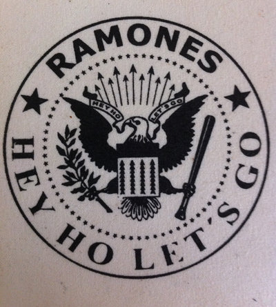 Ramones  Raw Canvas Printed Patche