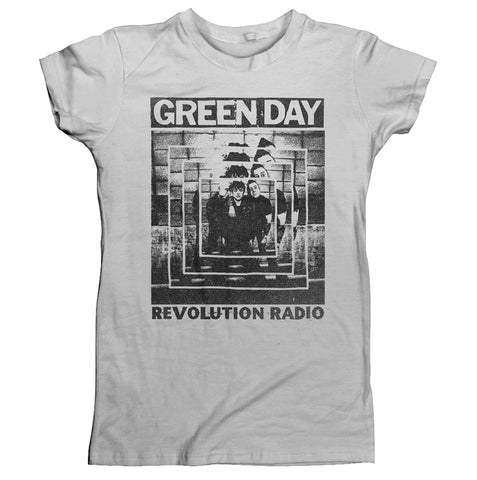 POWER SHOT - Womens Tops (GREEN DAY)
