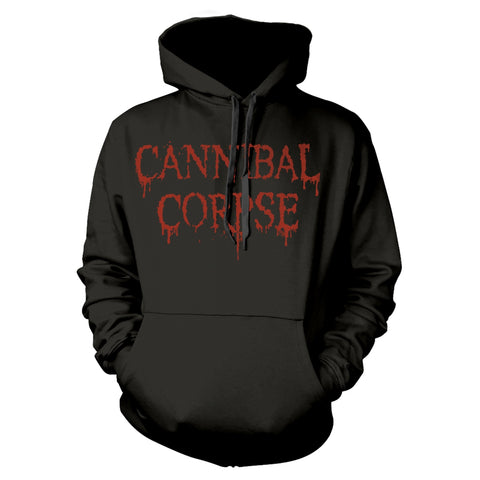 DRIPPING LOGO - Mens Hoodies (CANNIBAL CORPSE)
