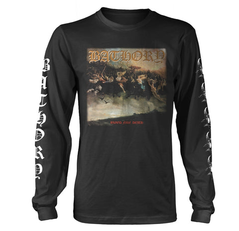 BLOOD FIRE DEATH - Mens Longsleeves (BATHORY)