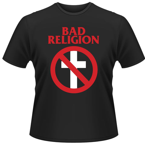 CROSS BUSTER - Mens Tshirts (BAD RELIGION)