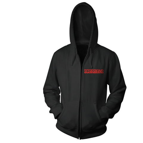 BLACK OUT - Mens Hoodies (SCORPIONS)