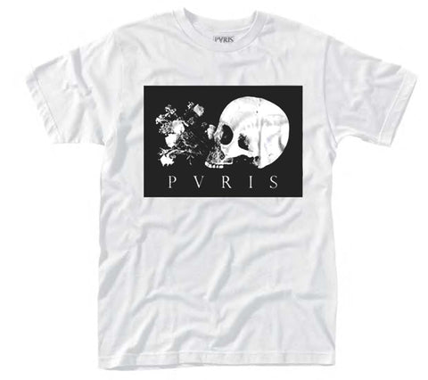 SKULL FLOWERS - Mens Tshirts (PVRIS)