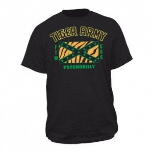 Tiger Army Psychobilly Mens T-shirt