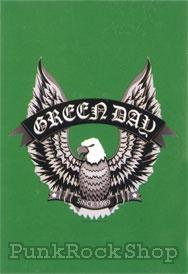 Green Day Eagle Poster