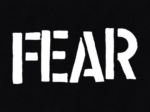 Fear - Logo Printed Patch