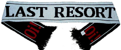 Last Resort The Logo Scarve