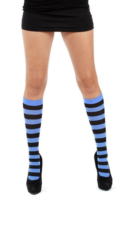 Pamela Mann Twickers Knee High Socks Blue Knee Sock