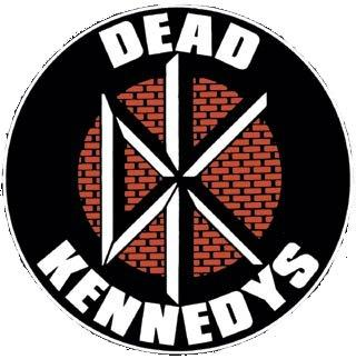 Dead Kennedys Logo Woven Patche