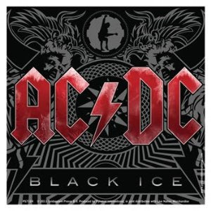 AC/DC Black Ice Sticker