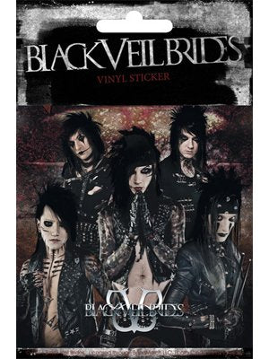 Black Veil Brides Band Group Shot Sticker