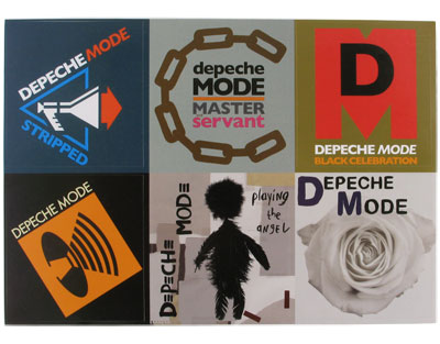 Depeche Mode Six Sticker Sheet Sticker