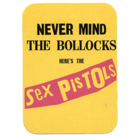 Sex Pistols Never Mind The Bollocks Sticker Sticker