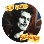 Sex Pistols Sid Vicious Union Jack Sticker