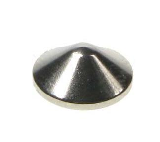 Various Punk Small Conical with screw thread Pack of 10 Stud