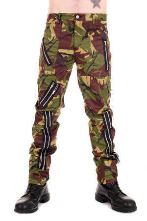 Tiger Of London Tiger of London Camouflage with zips CCF-755 Mens Trouser