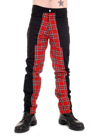 Tiger Of London Tiger of London Red Deviant Pants CCF-789-RED Mens Trouser