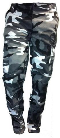Various Punk Urban Camo Trousers Mens Trouser