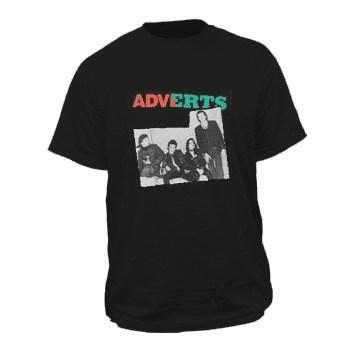 Adverts The Band Photo Mens Tshirt
