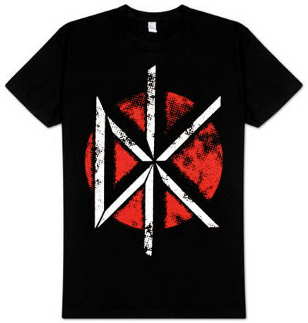 Dead Kennedys Big Distressed Red Logo T-shirt